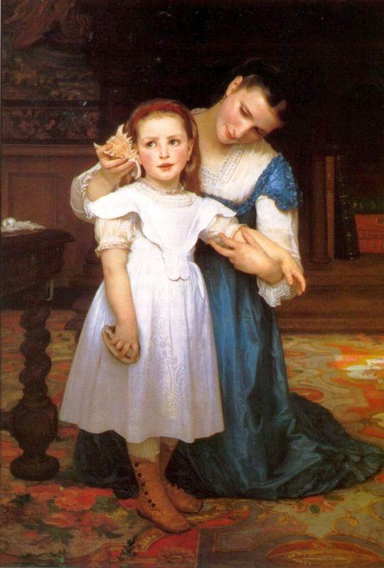 The Shell - William-Adolphe Bouguereau