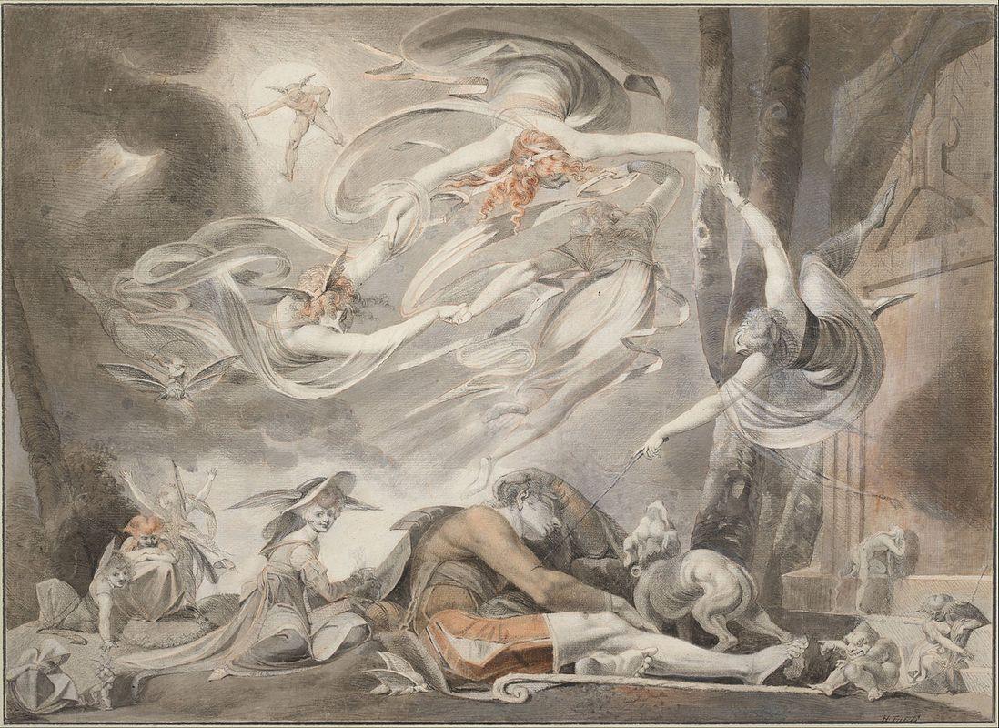 The Shepherd's Dream - Henry Fuseli