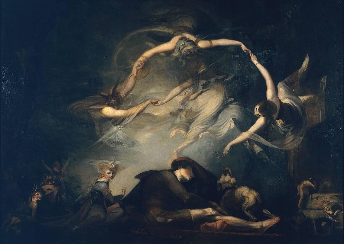 The Shepherd's Dream, from 'Paradise Lost' - Henry Fuseli