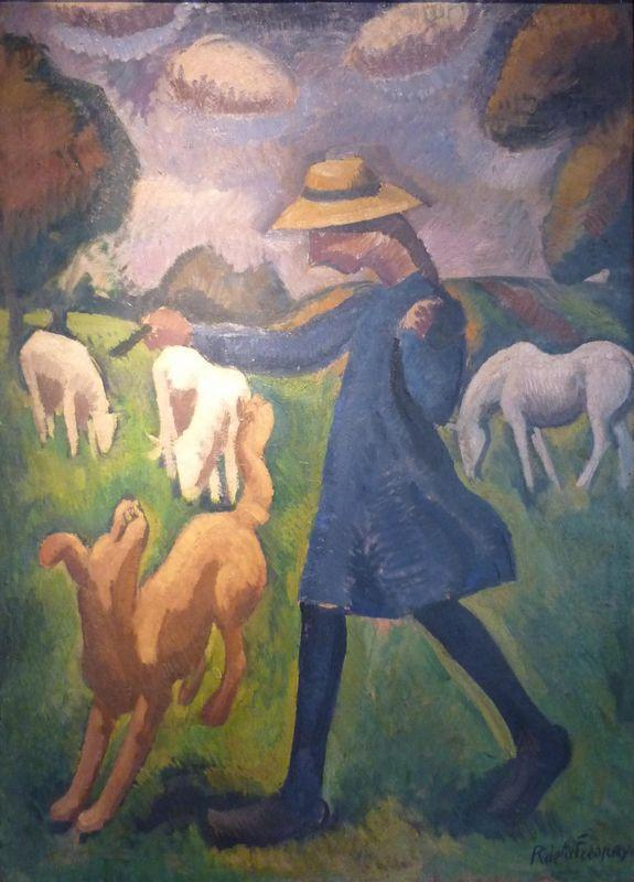 The shepherdess. Spring Marie Child  - Roger de La Fresnaye