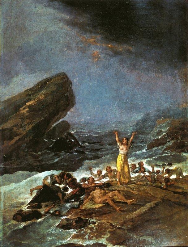 The Shipwreck - Francisco Goya