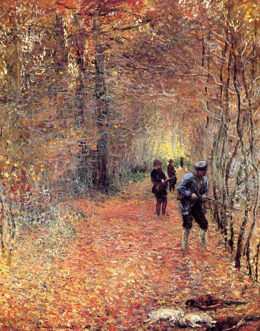The Shoot - Claude Monet