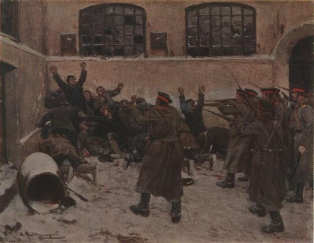 The shooting in Presnya in December 1905 - Ivan Vladimirov