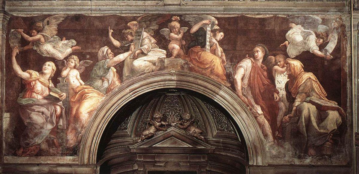The Sibyls (Santa Maria della Pace) - Raphael