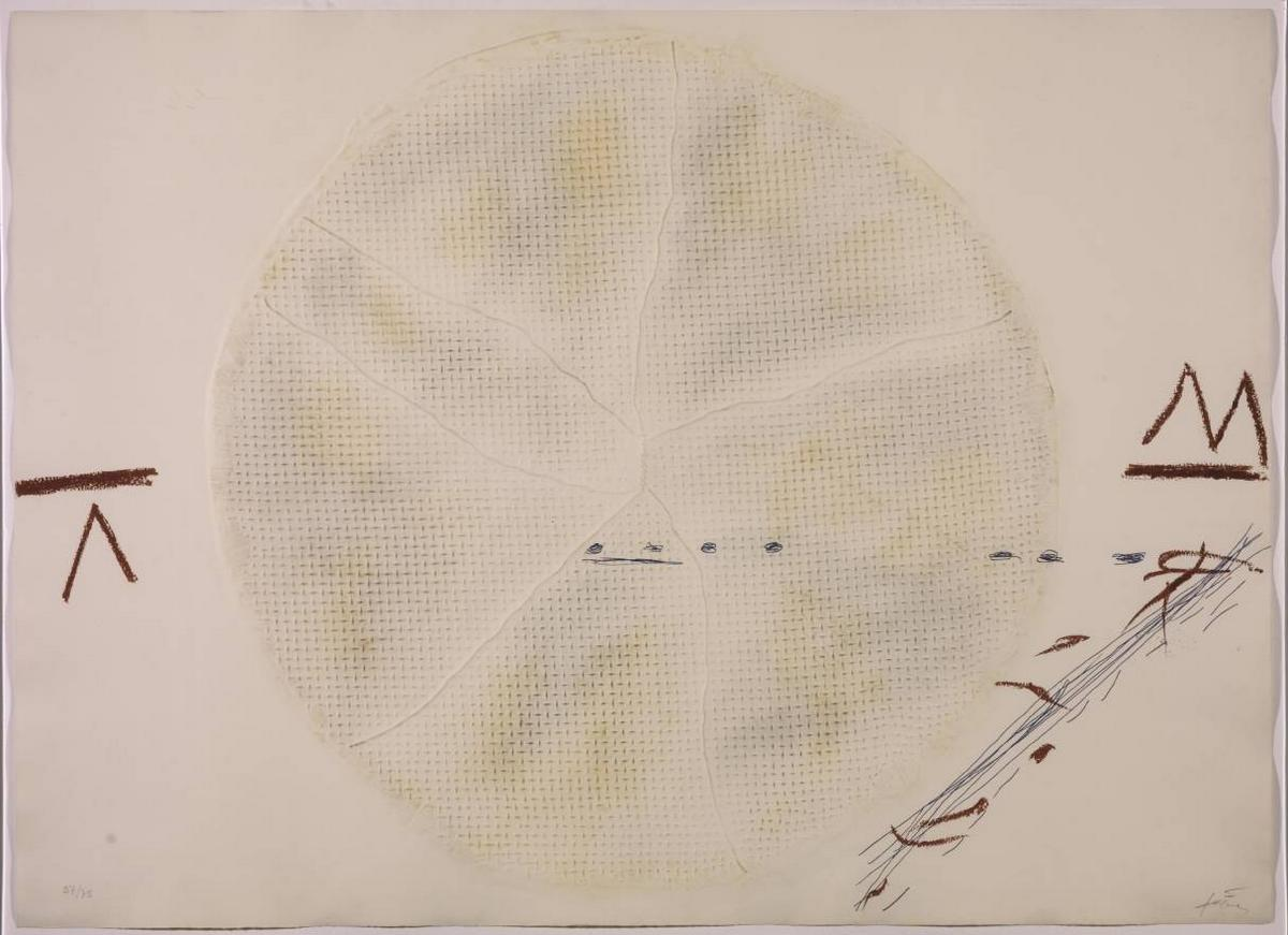 The Sieve  - Antoni Tapies