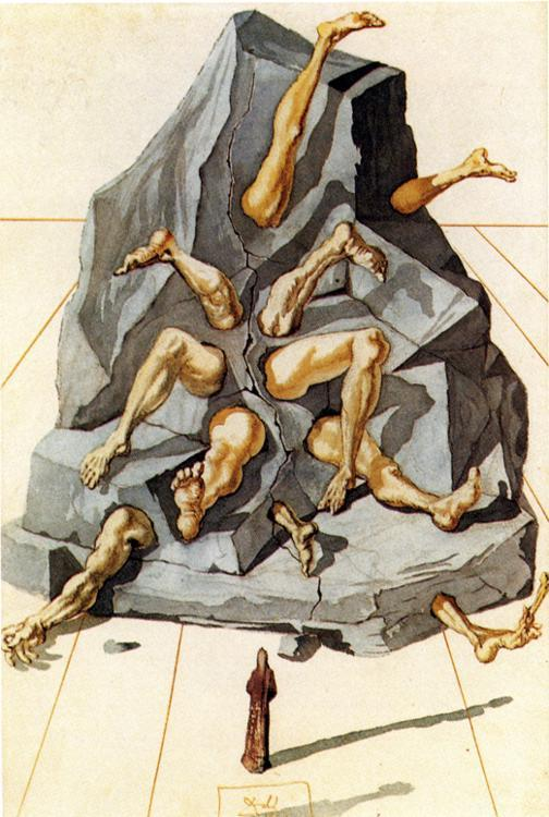 The Simoniacs - Salvador Dali
