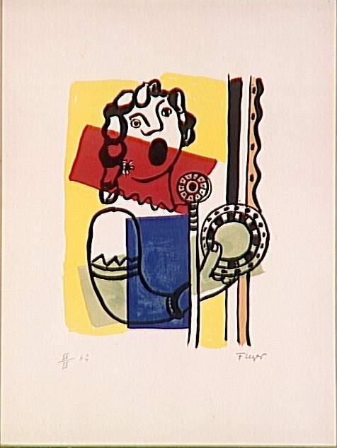 The singer on the radio - Fernand Leger