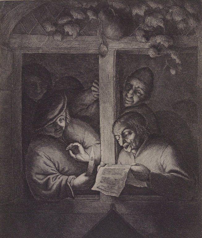 The Singers at the Window - Adriaen van Ostade