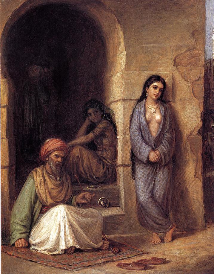 The Slave - John William Waterhouse