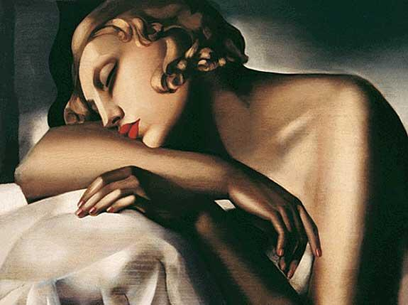 The Sleeper - Tamara de Lempicka