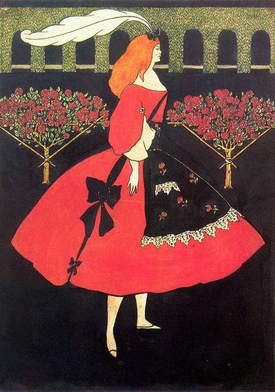 The Slippers of Cinderella - Aubrey Beardsley