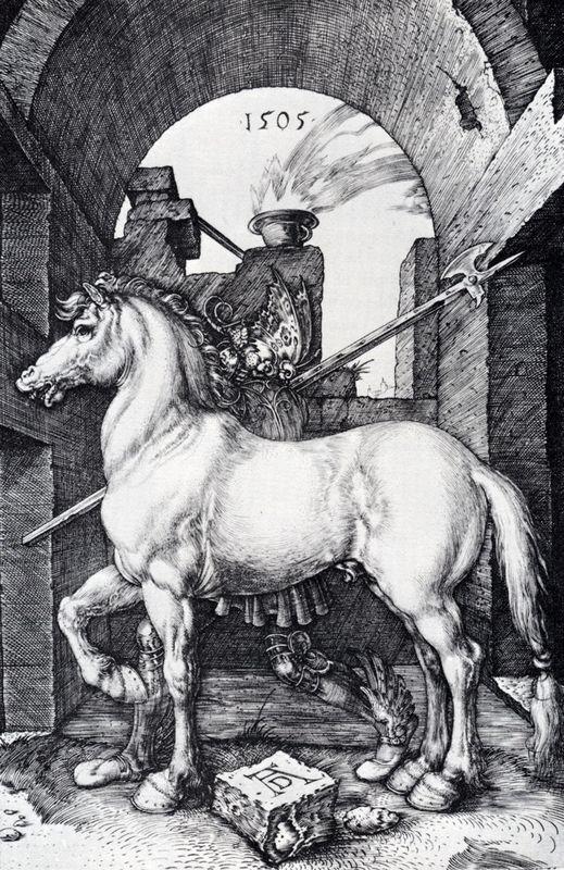 The Small Horse - Albrecht Durer