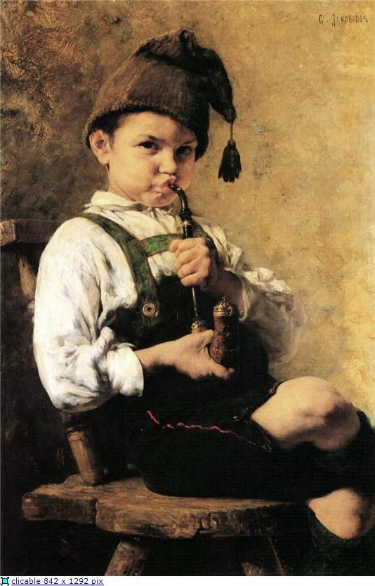 The Smoker - Georgios Jakobides