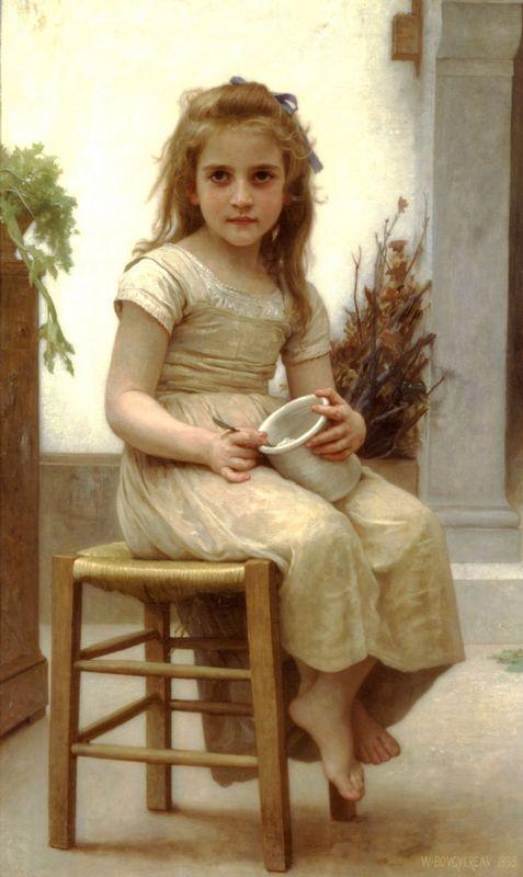 The Snack - William-Adolphe Bouguereau
