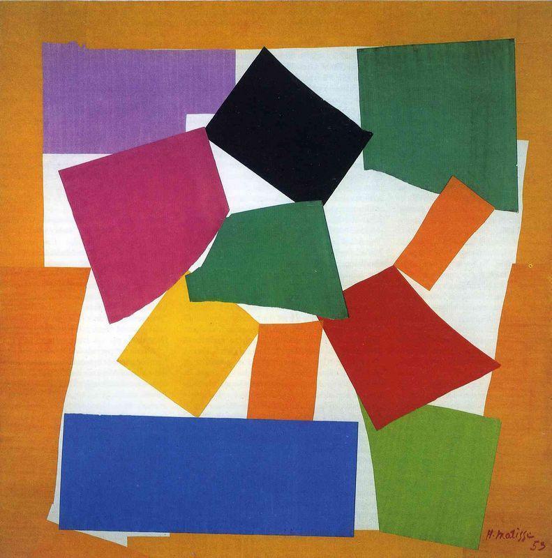 The Snail - Henri Matisse