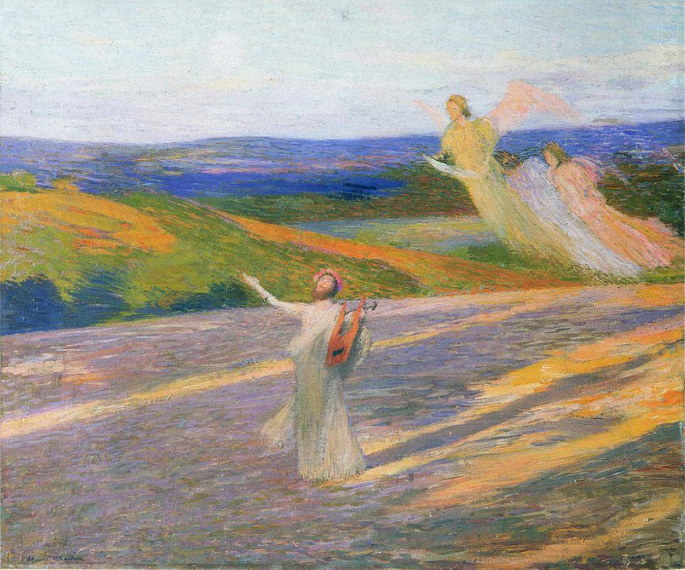 The Song of Orpheus - Henri Martin