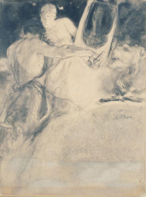 The soul of the artist - Nikolaos Gyzis