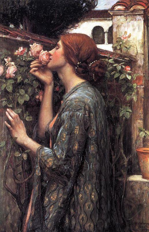 The Soul of the Rose - John William Waterhouse