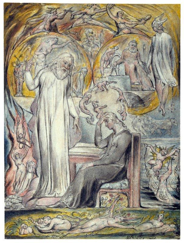 The Spirit of Plato - William Blake