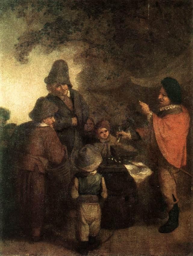 The Stall Keeper - Adriaen van Ostade