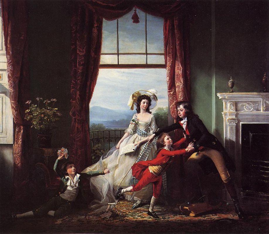 The Sitwell Family - John Singleton Copley