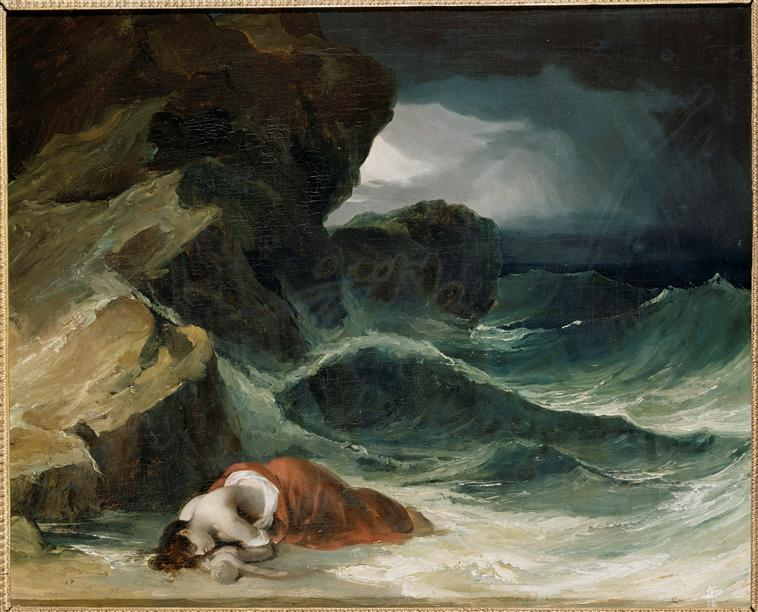 The Storm, or The Shipwreck - Theodore Gericault