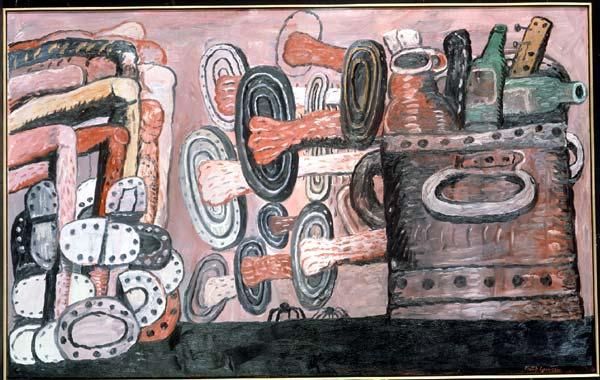 The Street - Philip Guston