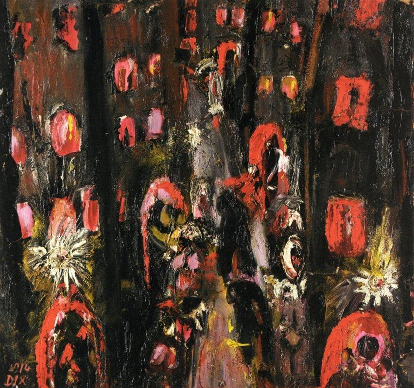 The Street of Brothels - Otto Dix