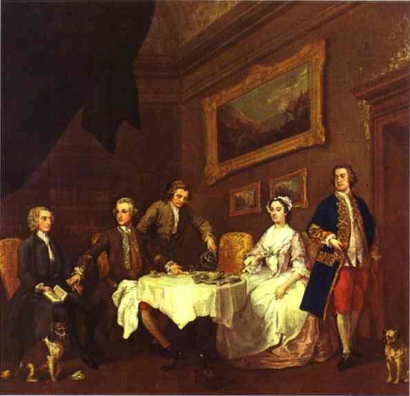 The Strode Family  - William Hogarth