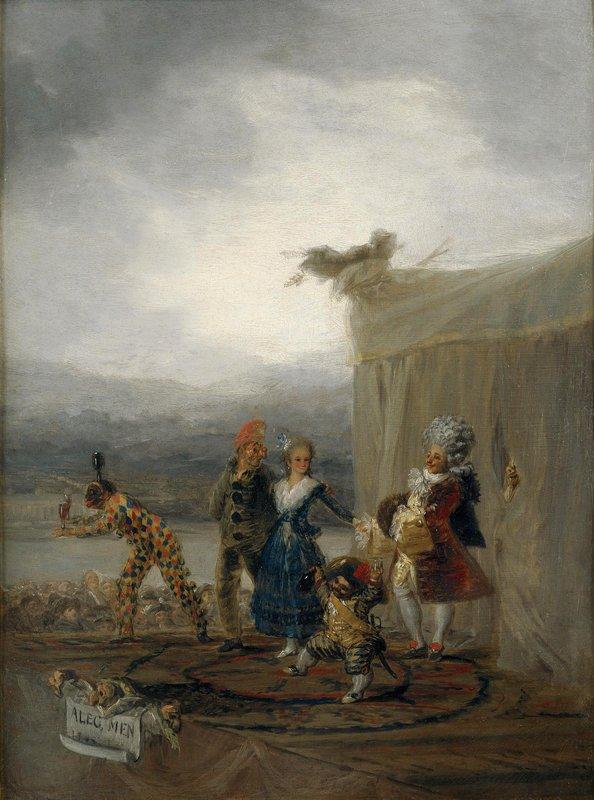 The Strolling Players - Francisco Goya
