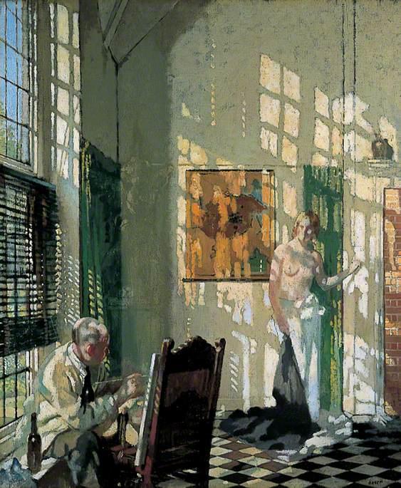 The Studio 1910 - William Orpen