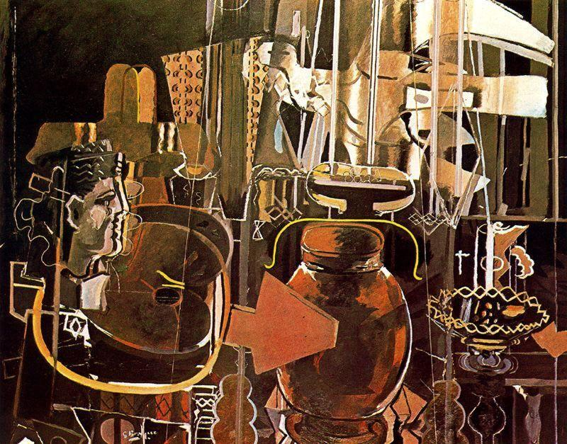 The Studio (II) - Georges Braque