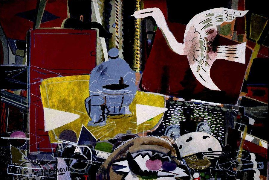 The Studio (VIII) - Georges Braque