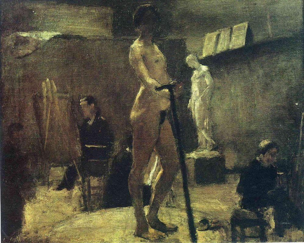 The Study of Gustave Moreau - Henri Matisse