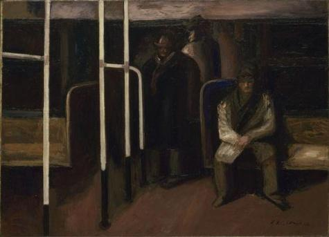 The Subway - Jose Clemente Orozco