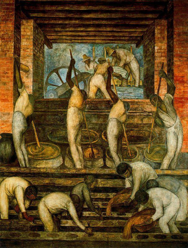 The Sugar Mill - Diego Rivera