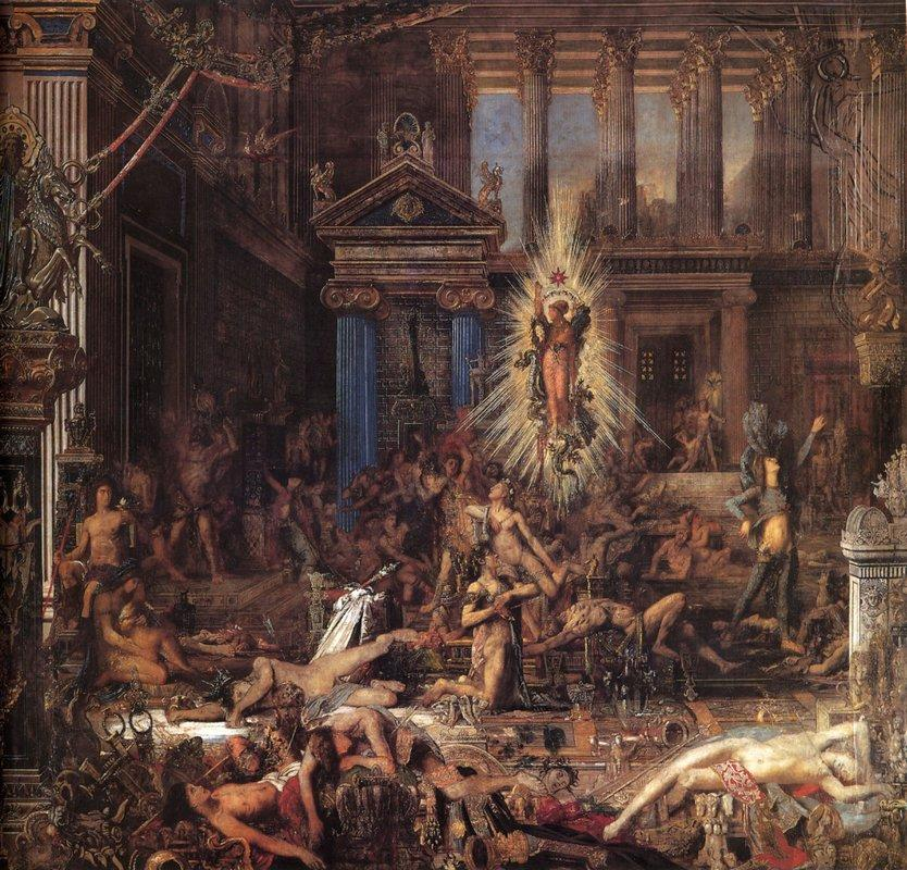 The Suitors - Gustave Moreau