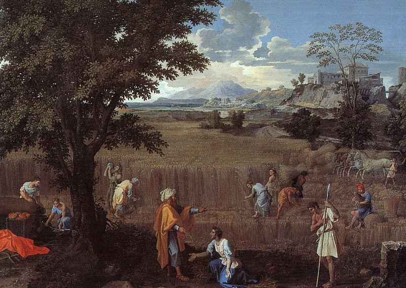 The Summer (Ruth and Boaz) - Nicolas Poussin