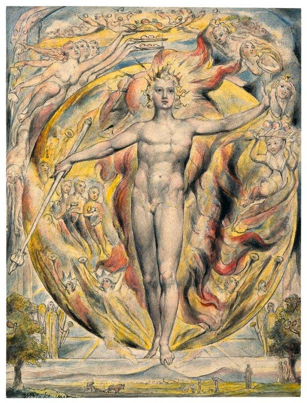 The Sun at His Eastern Gate - William Blake