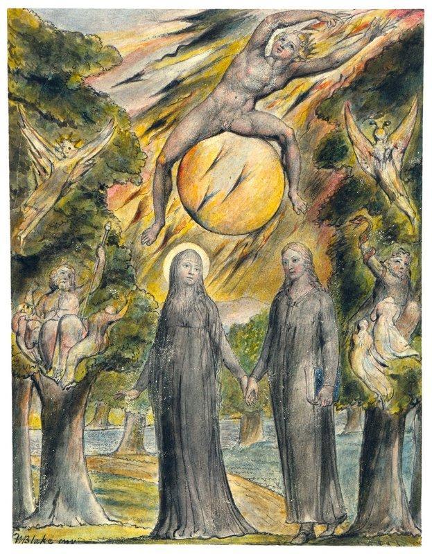 The Sun in His Wrath - William Blake
