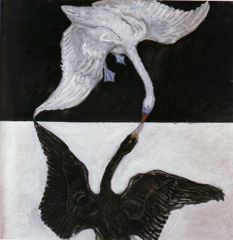 The Swan (No. 17) - Hilma af Klint