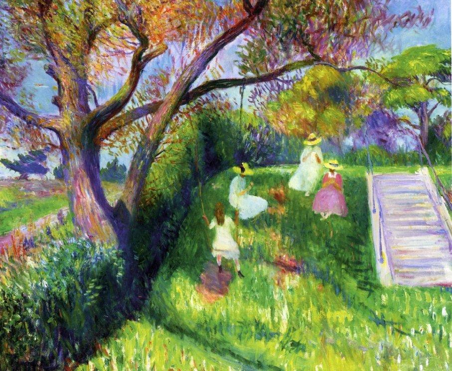 The Swing - William James Glackens