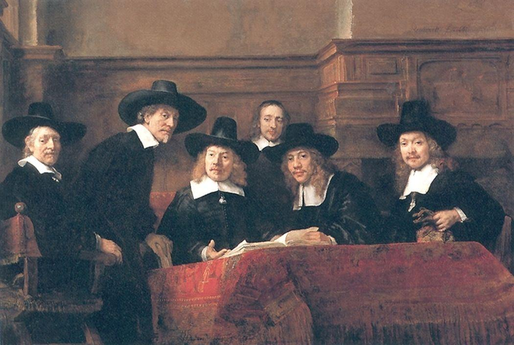 The Syndics - Rembrandt