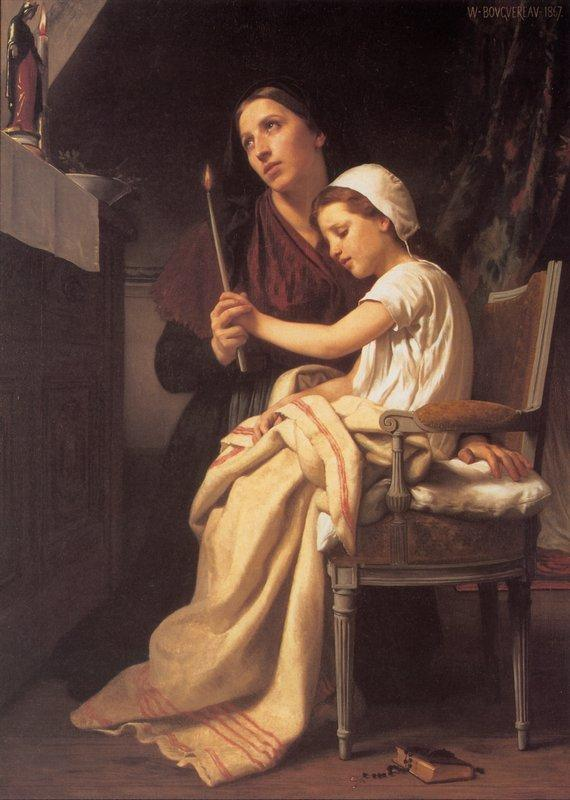 The Thank Offering - William-Adolphe Bouguereau