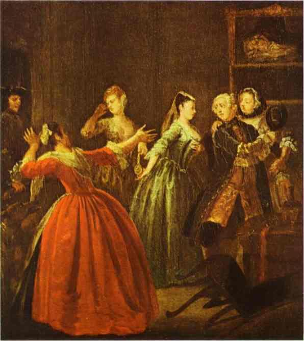 The Theft of a Watch  - William Hogarth