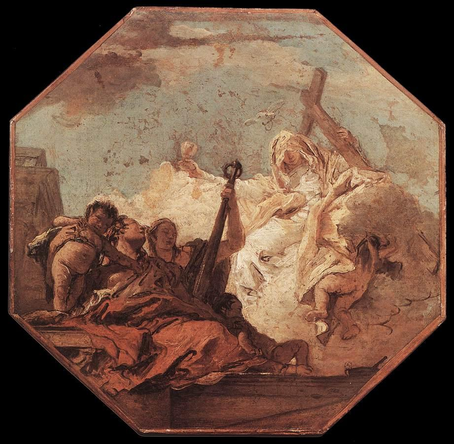 The Theological Virtues - Giovanni Battista Tiepolo