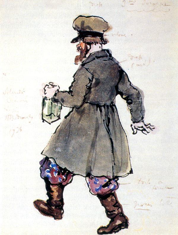 The third drunkard - Alexandre Benois