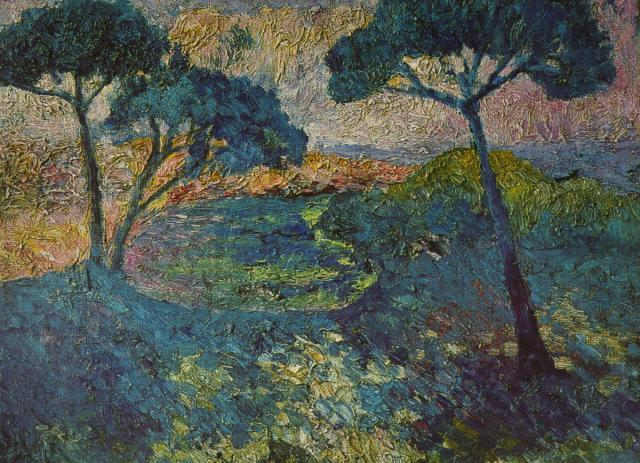 The Three Pines - Salvador Dali