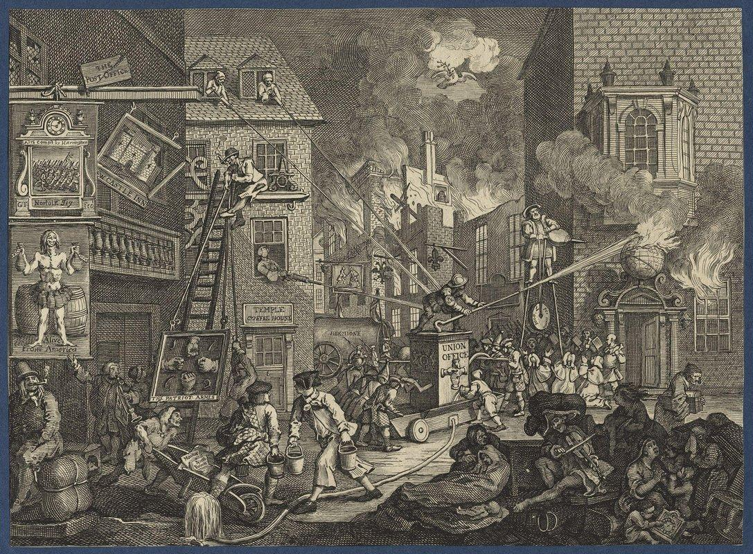 The Times' - William Hogarth