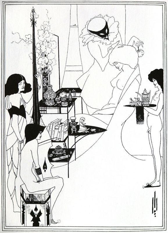 The Toilette of Salome - Aubrey Beardsley